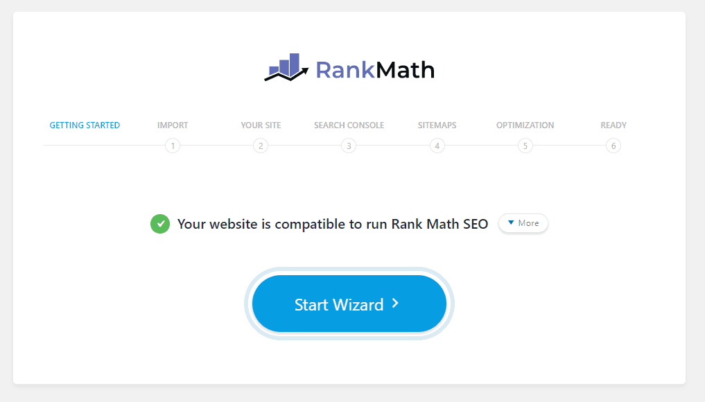 using rank math for the first time