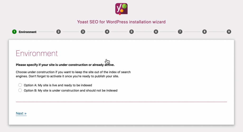 setting up yoast seo for the first time